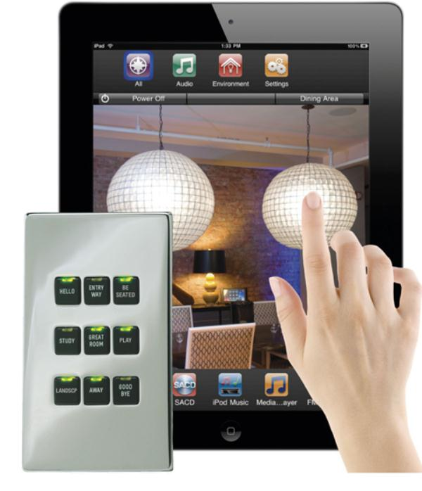 Home Automation Light Control: LiteTouch Savant Light Control With Dedicated Controller