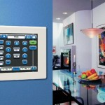 Security Automation Built In To Wall Integrated By Global Home Automation
