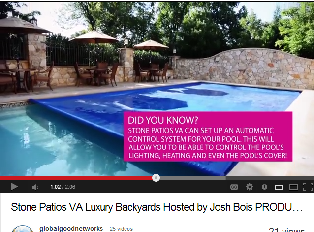 Automated Pool Cover and Cleaning Device in Reston VA Included in Partner Video